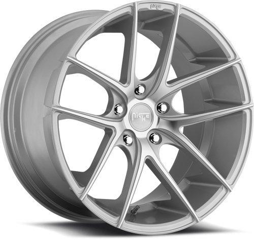 (MHT 13118804342 Targa M131 Cast Concave Monoblock Wheel Size: 18 x 8 Bolt Circle)