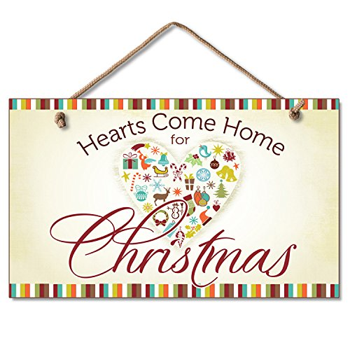 Hearts Come Home for Christmas (winter design) 5.75