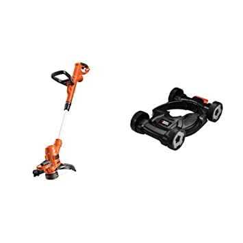 Black+Decker ST5530-QS Cortacésped, 550 W + Black+Decker CM100-XJ ...