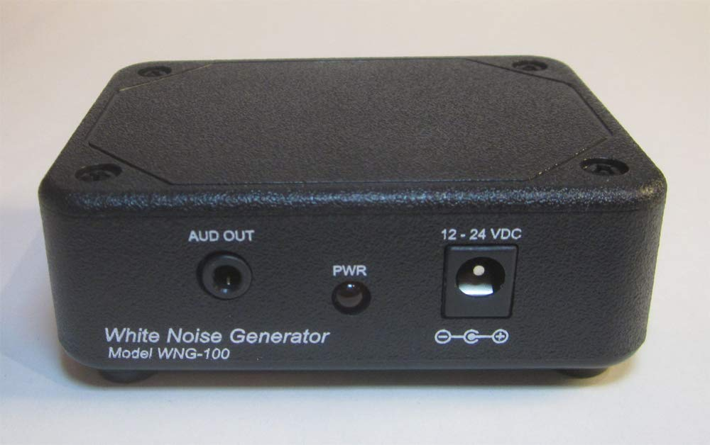 Genuine Analog White Noise Signal Generator Which Does Not Loop Must be Patched to a Set of Computer Speakers or to Sound System