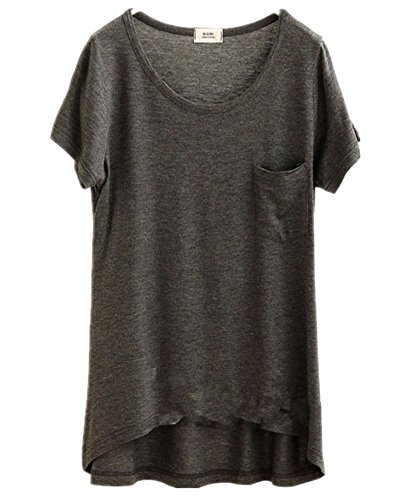 Mullsan Womens V neck T shirt Cotton