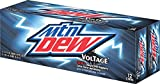 Mountain Dew Voltage Cans (12-count, 12 oz each)