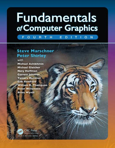 Fundamentals of Computer Graphics by A K Peters/CRC Press