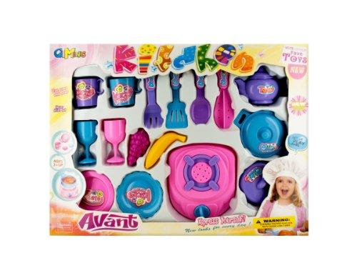 Cooking Play Set Kids Children