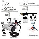 I.E.E Complete Airbrush Kit Air Compressor 3