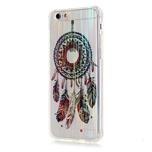 Voguecase® für Apple iPhone 6 Plus/6S Plus 5.5 hülle, Schutzhülle / Case / Cover / Hülle / TPU Gel Skin (LS/Bunte Campanula 02) + Gratis Universal Eingabestift