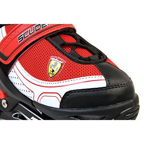 Ferrari Basic Adjustable Inline Skate White Size L by Ferrari (Image #3)