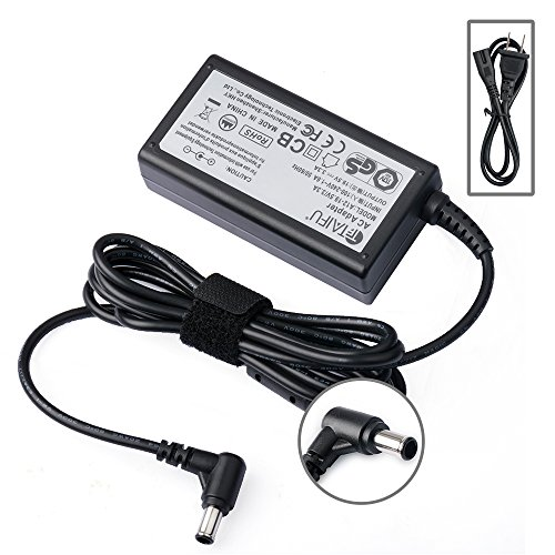 """Price comparison product image TAIFU 19V AC DC Adapter Charger for Samsung 32"""" Class J5205 J5003 22"""" H5000 A6619_FS UN22 H5000 UN32 J4000 UN32-J5205 UN32 J4500AF Full LED Smart HDTV Monitor TV Charger Power Supply Cord"""