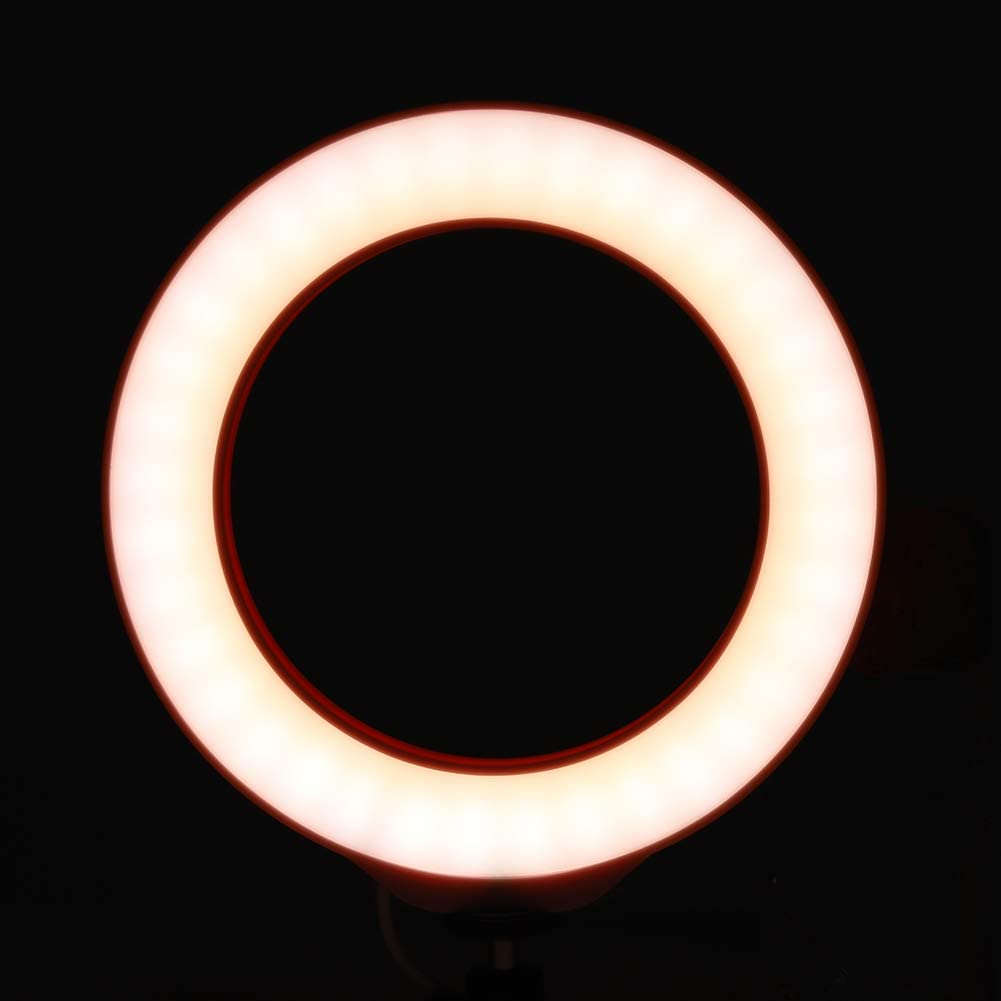 Portable LED Photography Light with 40 Energy-Saving Light Beads with USB Port for Computer Mobile Power Sanpyl Ring Fill Light