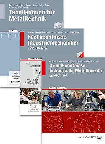Paketangebot Der Industriemechaniker: Lernfelder 1-15 + Tabellenbuch (Braun Handwerk)
