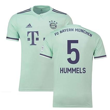sports shoes 3e8e7 2dd84 Amazon.com : 2018-19 Bayern Munich Away Football Soccer T ...