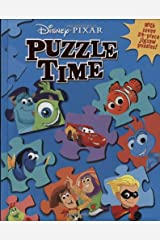 Disney/Pixar: Puzzle Time (A Jigsaw Puzzle Book) Hardcover