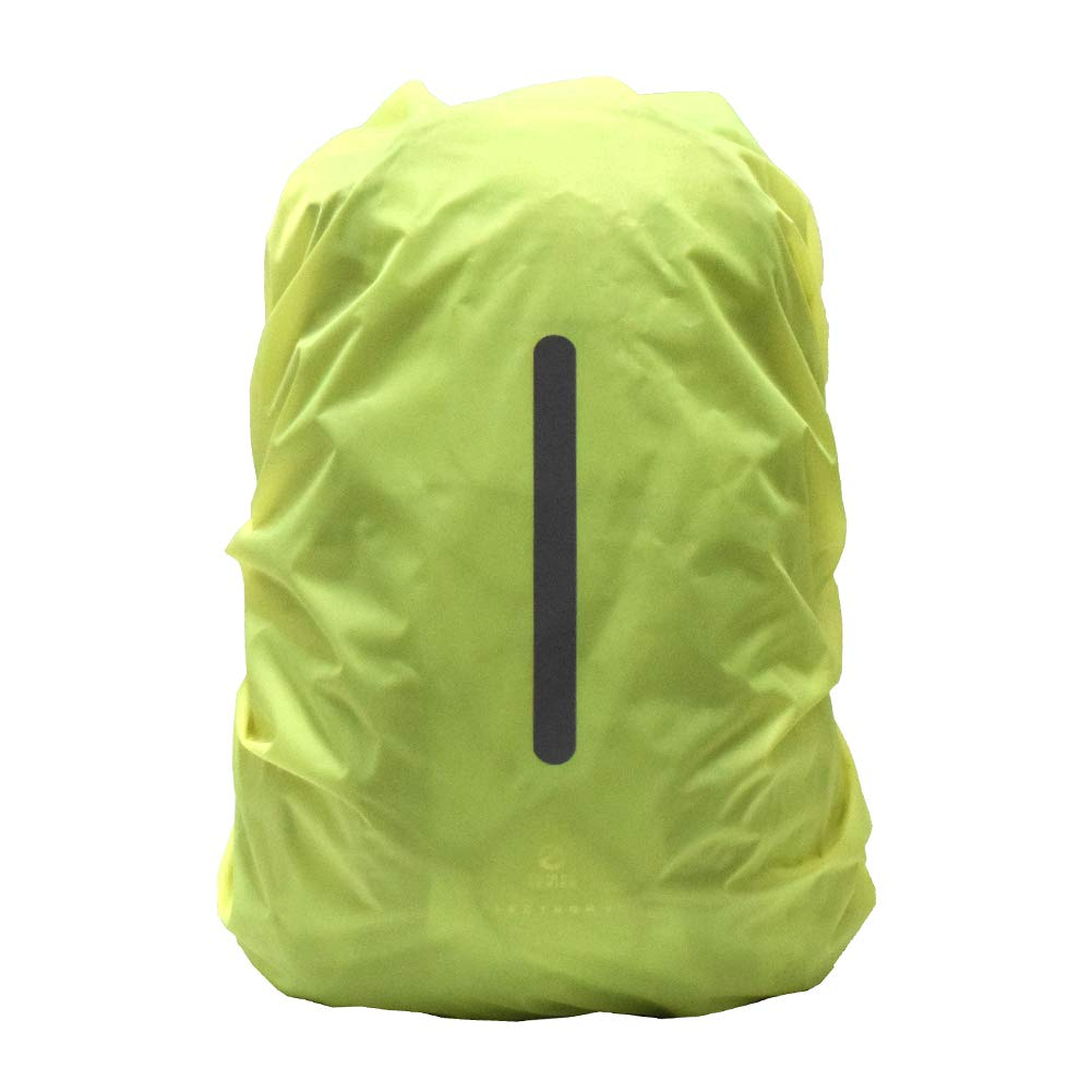 YSSAFE Waterproof Backpack Rain Cover,Backpack Rain Cover with Reflective Strip Ultralight Backpack Cover,Storage Pouch for Hiking//Camping//Outdoor Activities