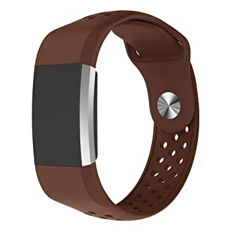 HLHN Compatible para Fitbit Charge 2 Bandas, Silicona Sport ...