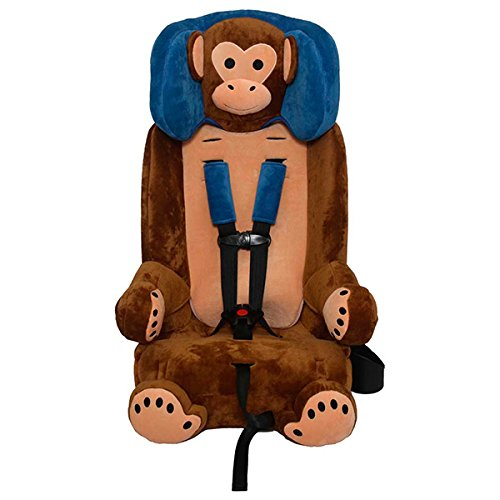 Sentry Guardimals Combination 3-in-1 Harness Booster Car Seat, Monkey
