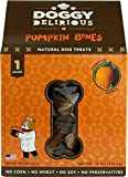 Cheap Doggy Delirious Natural Dog Treats Pumpkin Bones — 16 oz