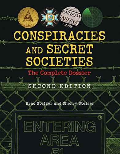 Society Cover - Conspiracies and Secret Societies: The Complete Dossier
