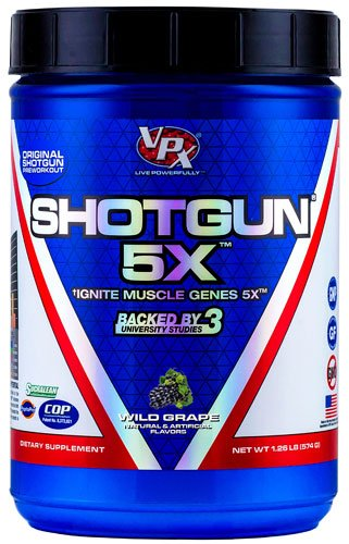 VPX Shotgun 5X™ Wild Grape -- 1.26 lbs