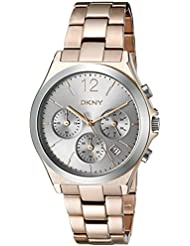 DKNY Womens Parsons Quartz Stainless Steel Casual Watch (Model: NY2453)