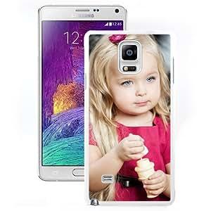 New Beautiful Custom Designed Cover Case For Samsung Galaxy Note 4 N910A N910T N910P N910V N910R4 With Little Girl (2) Phone Case