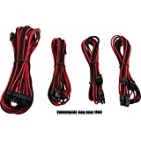 Corsair CP-8920148 Premium PSU Cable Kit, Red/Black