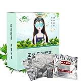 7pcs/Box Natural Chinese Mugwort Steam Heat Eye Patch Relieve Eye Fatigue Steam Goggles