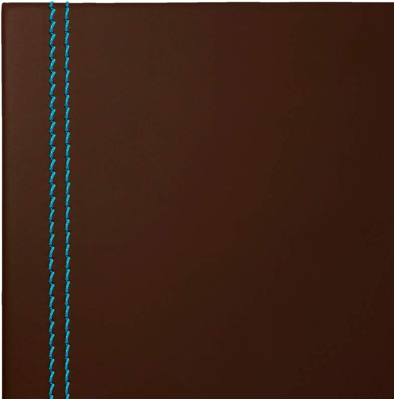 Eglooh - Urania Deluxe - Protector Mesa Escritorio en Cuero Marrón ...
