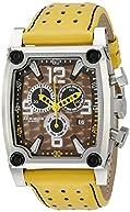 Akribos XXIV Men's AK415YL Conqueror Swiss Quartz Yellow Chronograph Watch