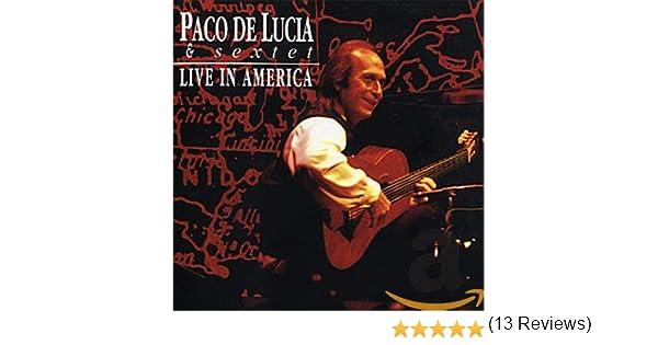 Live In America: Paco De Lucía: Amazon.es: Música