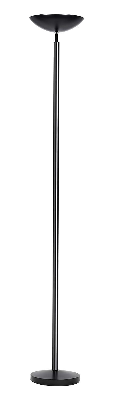 Unilux Dely Lampadaire LED 30W 3000 Lumens /à Variation dintensit/é Lumineuse 185 x 25 cm Chrome
