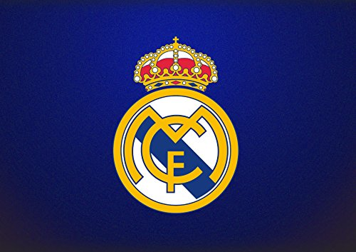 Real Madrid F.C Fútbol Soccer Cake Toppers Icing Sugar Paper A4 Sheet Edible Frosting Photo Birthday Cake Topper 1/4 by EdibleInkArt