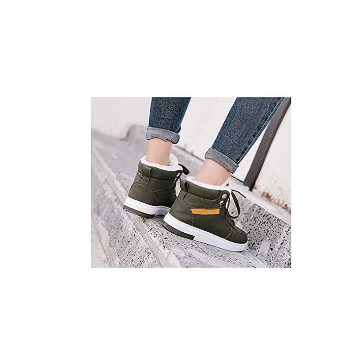 Dsx Scarpe Da Trekking Donna Super Warm Comfort Inverno Sneakers Scarpe Casual 10uk