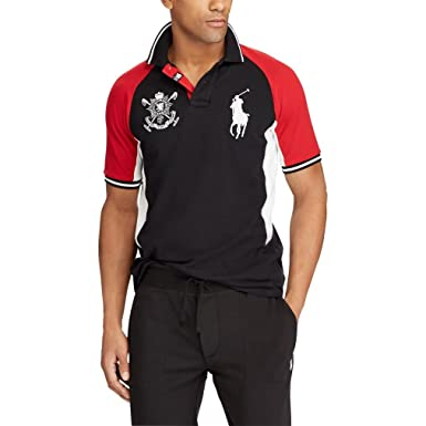 Ralph Lauren - Polo - para Hombre Polo Black Multi X-Small: Amazon ...