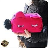 Gatton Fashion Womens Travel Makeup Bag Case Organizer Zipper Holder Handbag Toiletry | Style TRVIHR-11292205