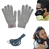 Efanr® 2014 New Women Men Unisex Wireless Bluetooth 3.0 Talking Glove Touch Screen Knit Gloves Handsfree Talk to the Hand Headset with Conductive Fingertips Mic Speaker Winter Warmer For Apple iPad Samsung HTC Android Phones Smartphone iPhone 6 /6 Plus/5/5S/5C/4S,Samsung Galaxy S5/S4/S3/S2/Note 4/Note 3/Note 2, HTC ONE M8 M7 Desire 816 510, Sony Xperia Z3 Z2 Z1, Motorola Moto G X E, LG G3 G2 a