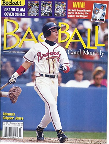 (Beckett Baseball Card Monthly Magazine (April 1999 - Chipper Jones - Grand Slam Cover Series #4))