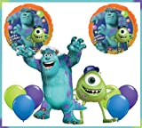 Monsters University Mike & Sulley Jumbo Mylar Balloon Set Birthday Party Bouquet by Qualatex