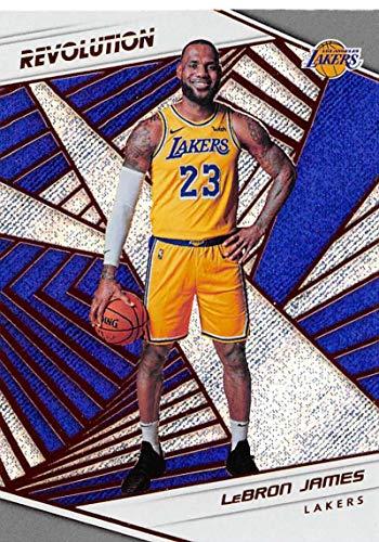 2018-19 Panini Revolution #40 LeBron James Los Angeles Lakers NBA Basketball Trading Card