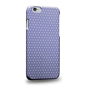 Case88 Premium Designs Art Blue Dot Pattern Carcasa/Funda dura para el Apple iPhone 6 4.7""