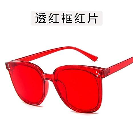 Yangjing-hl Gafas metálicas metálicas Caja Gafas jk Gafas de ...