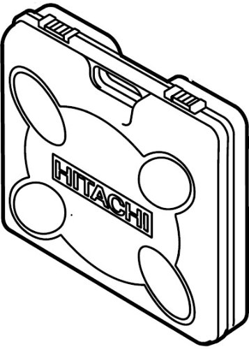 Hitachi 326346 Plastic Carrying Case for the Hitachi DB3DL Screw Driver