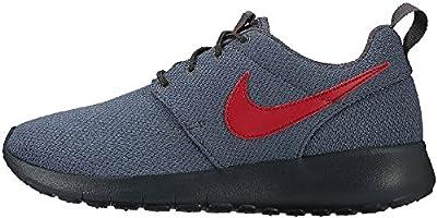 Nike Roshe One Rosheone (GS) Sneaker Shoes gray/red 599728-035