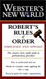 Webster's New World Robert's Rules of