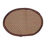 YDZN Dog Cat Mat,Oval 18×25cm,Summer Cooling Pet Supplies Sleeping Pad Cushion