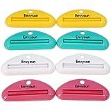LANGING Color al Azar 4 Pinzas para Pasta de Dientes multifuncionales para Exprimir Pasta de Dientes