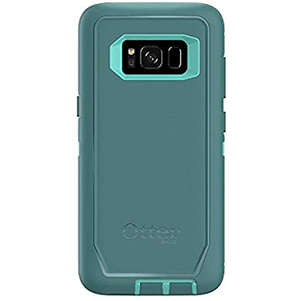 OtterBox Defender Series for Samsung Galaxy S8 Case Only - Bulk Packaging - Aqua Mint Way (Aqua Mint/Mountain Range Green)