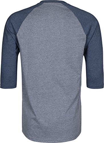 Heather Grey Vans Raglan Camiseta Otw Hombre wIBqa
