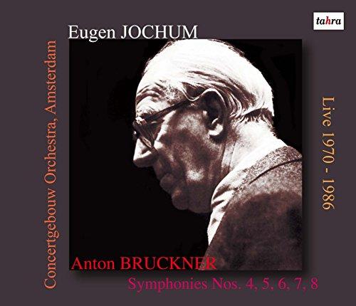 オイゲン・ヨッフム(指揮) アムステルダム・コンセルトヘボウ管弦楽団 / ブルックナー:交響曲第4番~8番