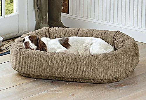 Orvis Wraparound Dog Bed Cover/Large, Brown Tweed, Large