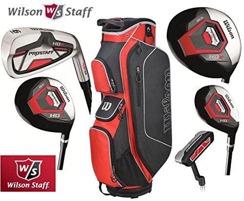 Wilson Prostaff Graphite Shafted HDX Irons & Graphite Shafted HDX Woods...